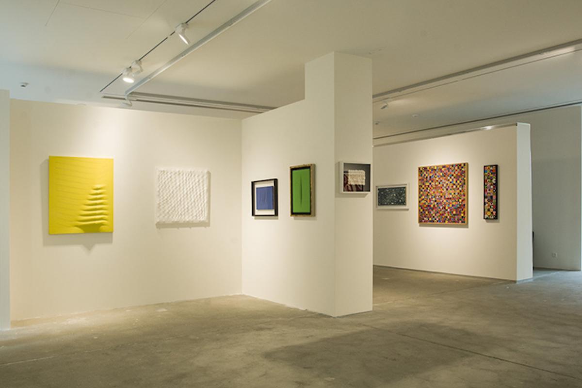 """""""Arte Italiana 60-90"""", a cura di Michele Robecchi, 2013, Cortesi Gallery, Lugano, foto di Carlo Pedroli."""