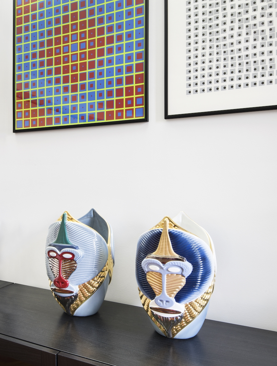 Interno di un loft in zona San Siro a Milano, progetto GFR Architettura, consulenza artistica Vera Canevazzi, foto Carola Merello.
